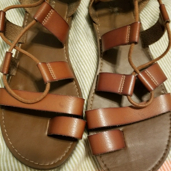 c6b4246389c1 Target lace up sandals. M 5a39baf200450f85b8025d17